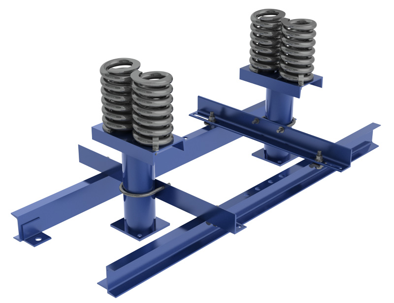 EECO Pit channels & buffer springs